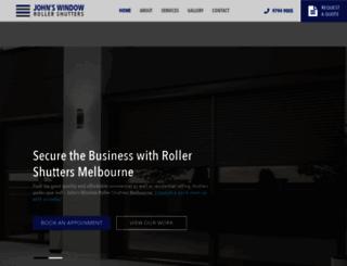 johnshutters.com.au screenshot
