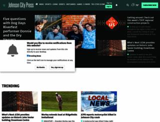johnsoncitypress.com screenshot