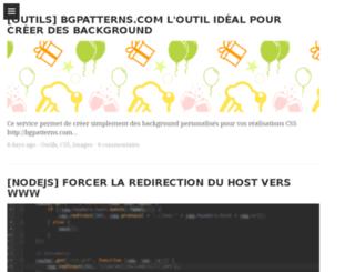 johnstyle.fr screenshot