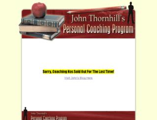johnthornhillcoaching.com screenshot