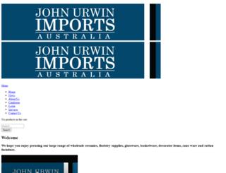 johnurwinimports.com.au screenshot