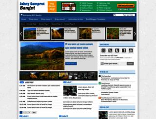 johnysompret-banget.blogspot.com screenshot