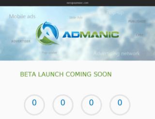 join.admanic.com screenshot