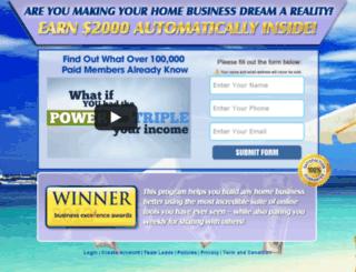 join.joindreamteam.com screenshot
