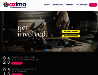 joinazima.org screenshot
