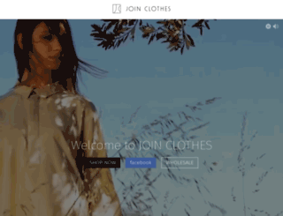 joinclothes.gr screenshot