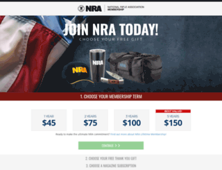 joinnra.nra.org screenshot