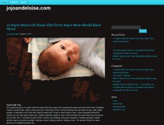 jojoandeloise.com screenshot
