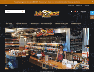 jojosjerky.com screenshot
