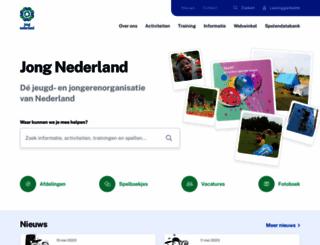 jongnederland.nl screenshot
