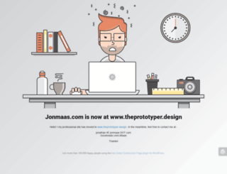 jonmaas.com screenshot