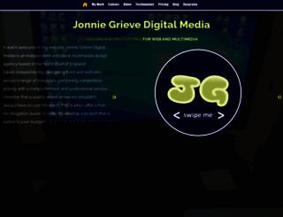 jonniegrieve.co.uk screenshot