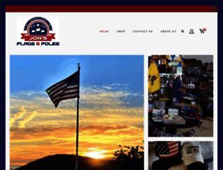 jonsflags.com screenshot