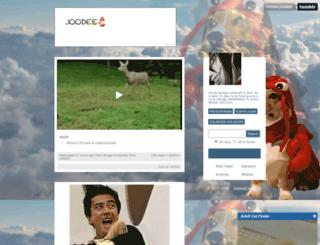 joodeer.tumblr.com screenshot