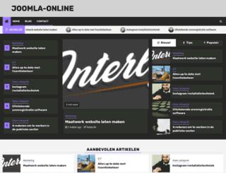 joomla-online.nl screenshot