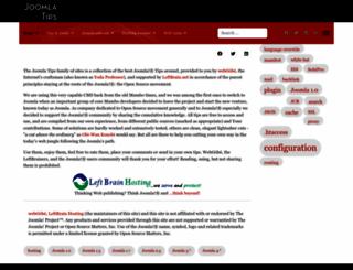joomla-tips.net screenshot