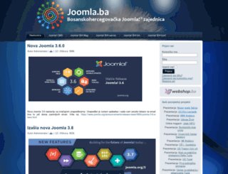 joomla.ba screenshot