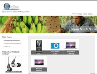 joomla.biztec.sk screenshot