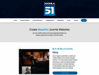joomla51.com screenshot
