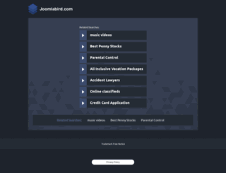 joomlabird.com screenshot
