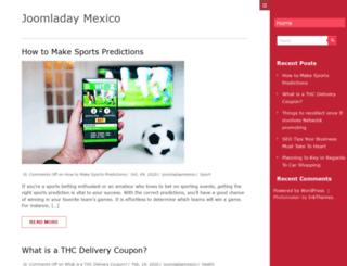 joomladaymexico.com screenshot