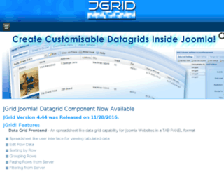joomlagrids.com screenshot