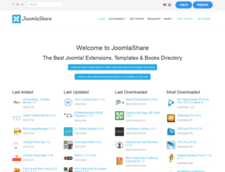 joomlashare.ir screenshot