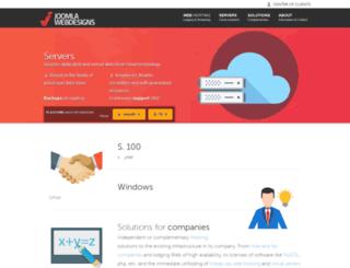 joomlawebdesigns.com screenshot