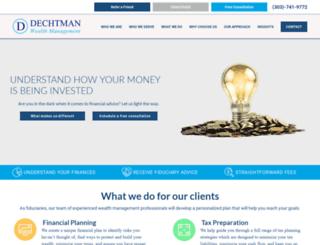jordandechtman.com screenshot