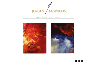 jordannewhouse.com screenshot