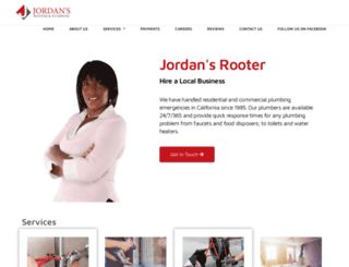 jordansrooter.com screenshot