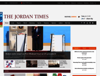 jordantimes.com screenshot