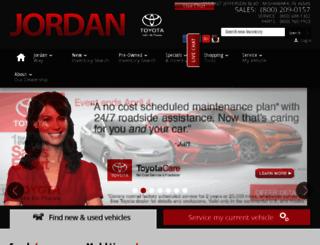 jordantoyota.calls.net screenshot