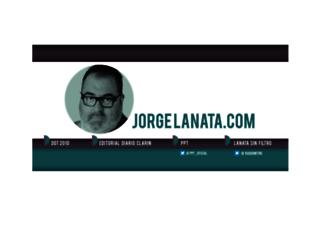 jorgelanata.com screenshot