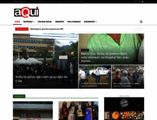 jornalaqui.com.br screenshot