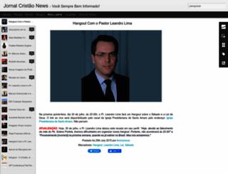 jornalcristaonews.blogspot.com.br screenshot