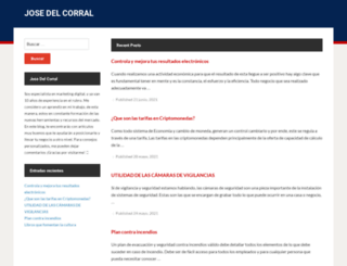 josedelcorral.es screenshot