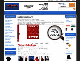 josens.com screenshot