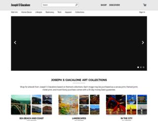 joseph-giacalone.artistwebsites.com screenshot