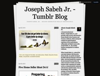 josephsabehjr.tumblr.com screenshot