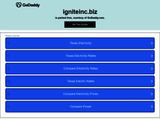 joseyp.igniteinc.biz screenshot