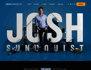 joshsundquist.com screenshot