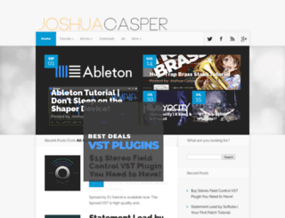 joshuacasper.com screenshot