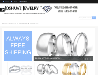 joshuasjewelry.com screenshot