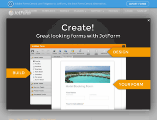 jotform.pro screenshot