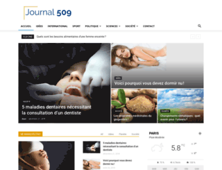 journal509.com screenshot