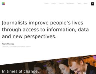 journalismnetwork.eu screenshot