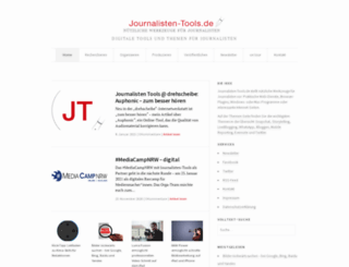 journalisten-tools.de screenshot