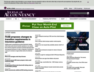 journalofaccountancy.com screenshot