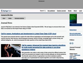 journalofbigdata.com screenshot